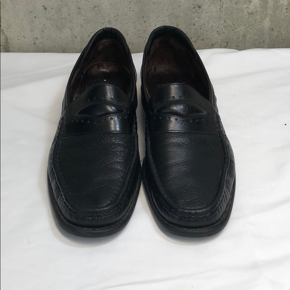 2e5428a69fc E.T. Wright Other - E.T. Wright Black Leather Penny Loafers Essex